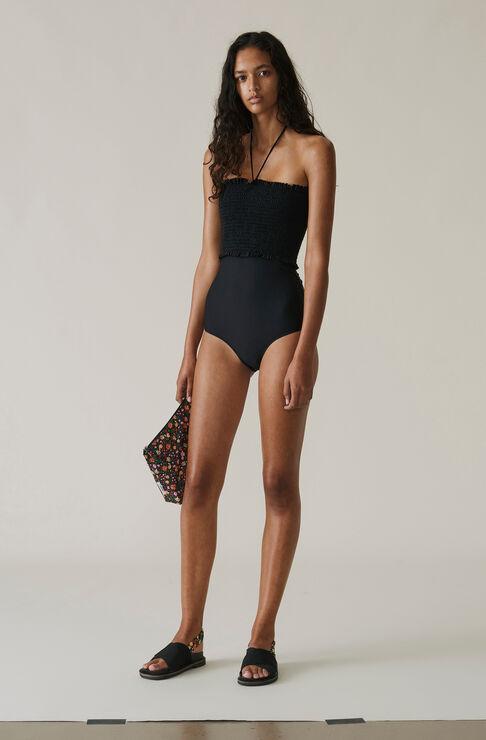 Ipanema Swimwear Solid Swimsuit, Black, hi-res