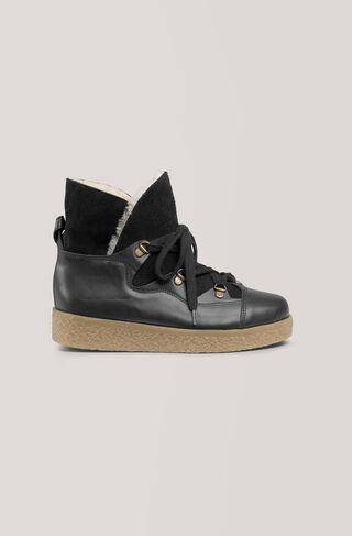 Masha Texas Boots, Black, hi-res