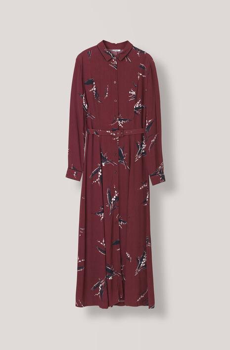 Montrose Crepe Maxi Dress, Decadent Chocolate, hi-res
