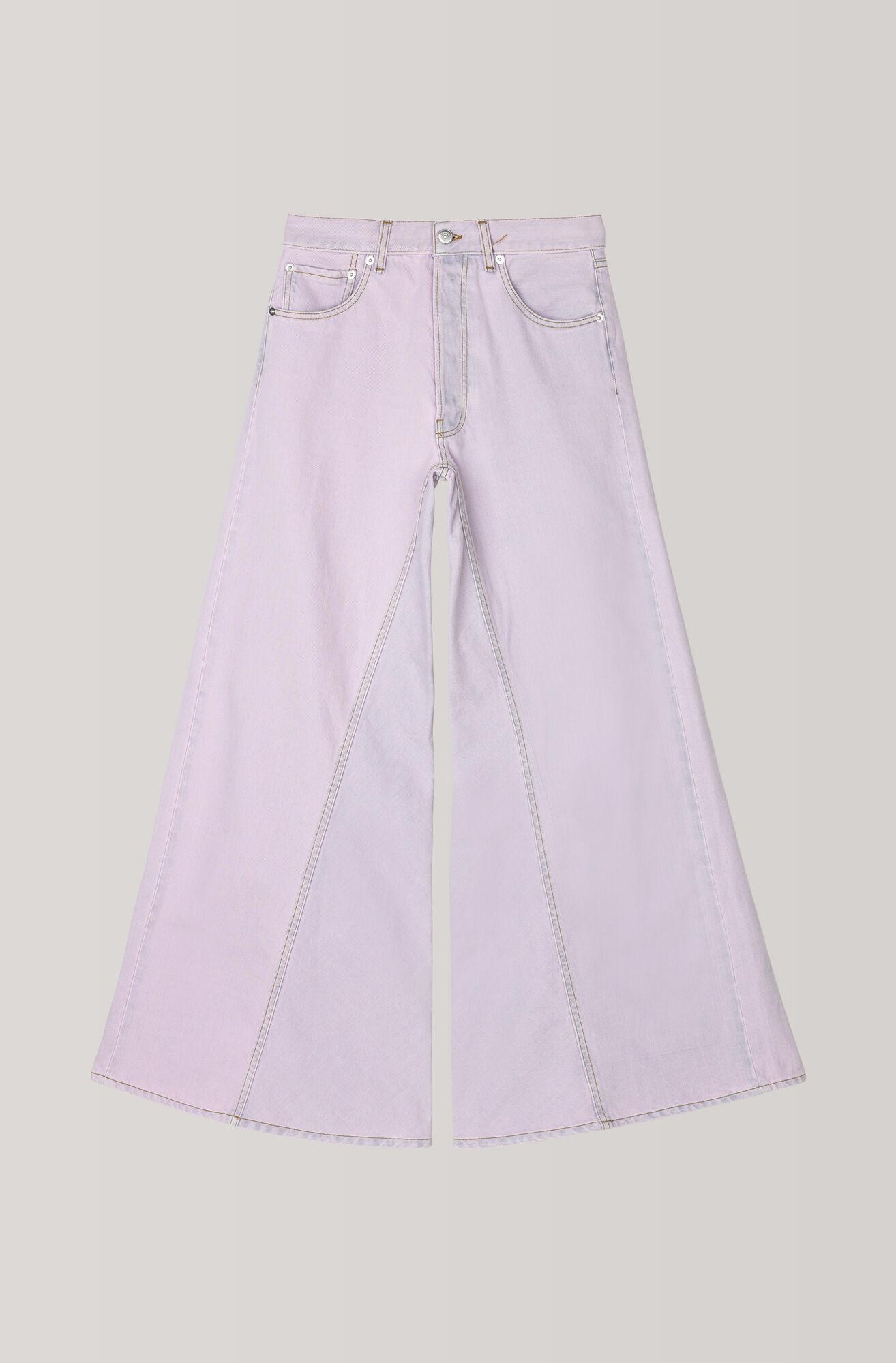 Denim Runway Pants, Silver Peony, hi-res