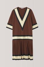 Dubois Polo Dress, Chocolate Fondant, hi-res
