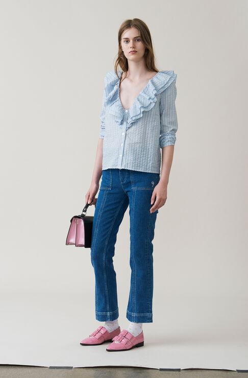 Charron Shirt, Pearl Blue, hi-res
