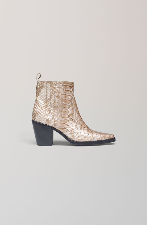 Dahlia Snake Ankle Boots, Cuban Snake, hi-res