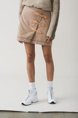 Phillips Cotton Skirt, Chanterelle, hi-res