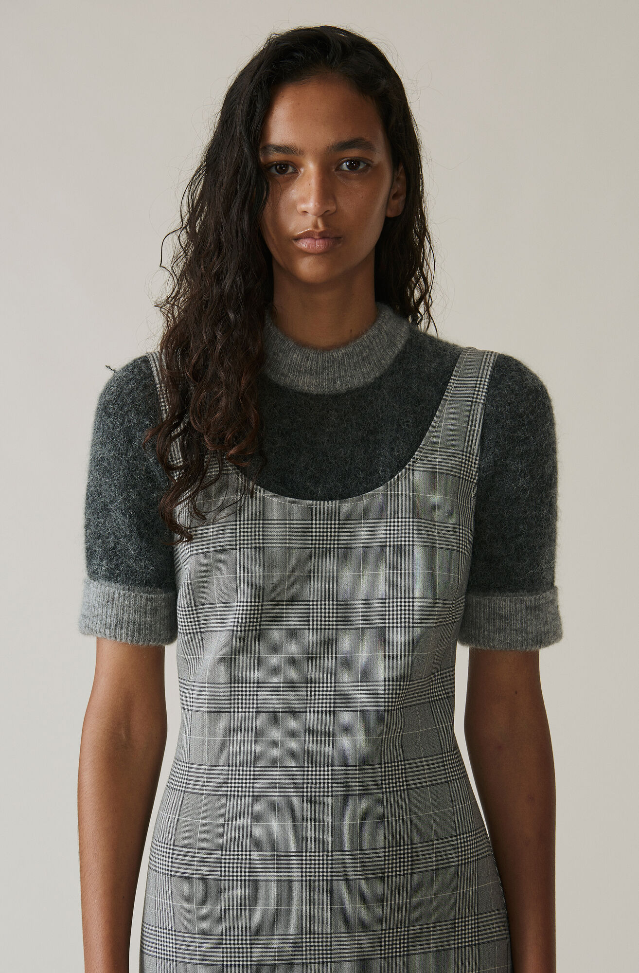 Evangelista T-shirt, Ebony Melange, hi-res