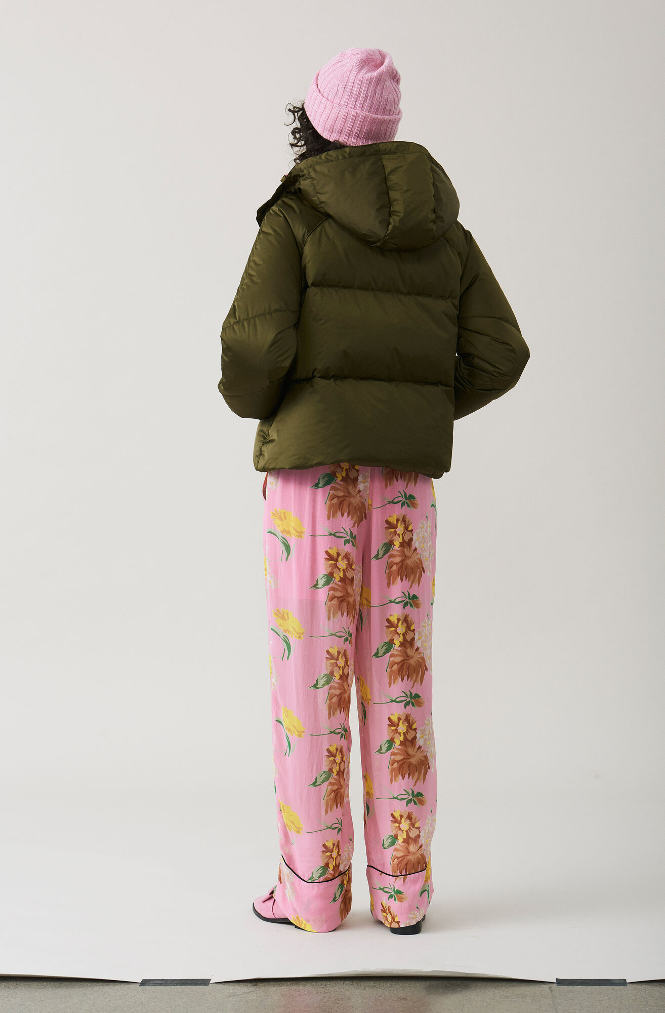 Vandalia Down Jacket, Army, hi-res