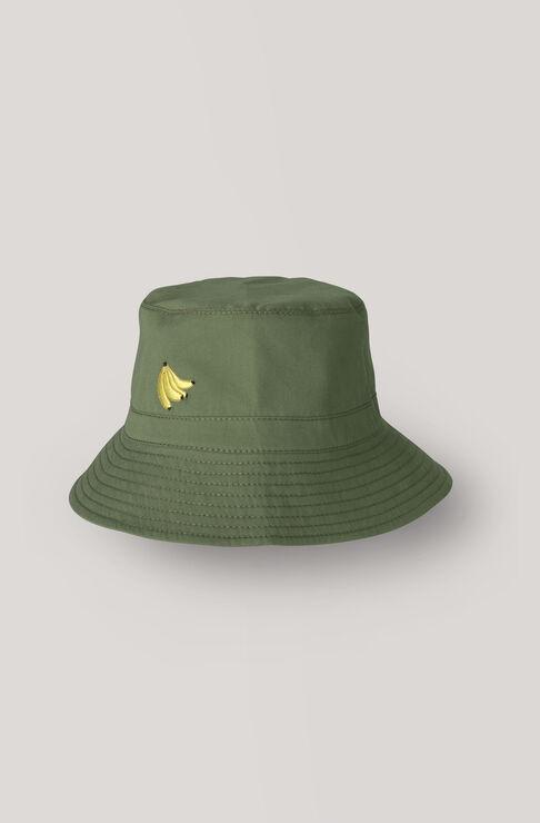 Fabre Cotton Hat, Army, hi-res
