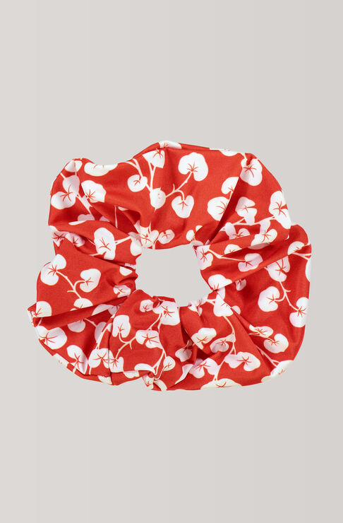 Clover Swimwear Scrunchie, Fiery Red, hi-res