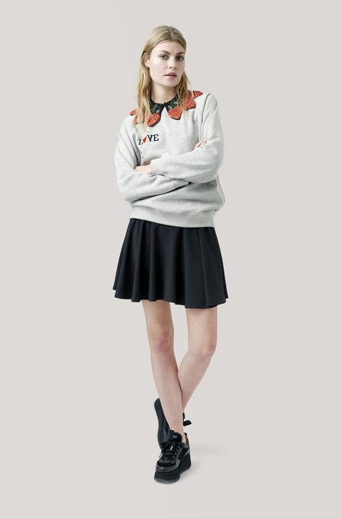 Lott Isoli Sweatshirt, Love, Paloma Melange, hi-res