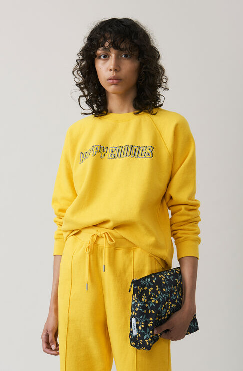 Lott Isoli Sweatshirt, Happy Endings, Lemon, hi-res