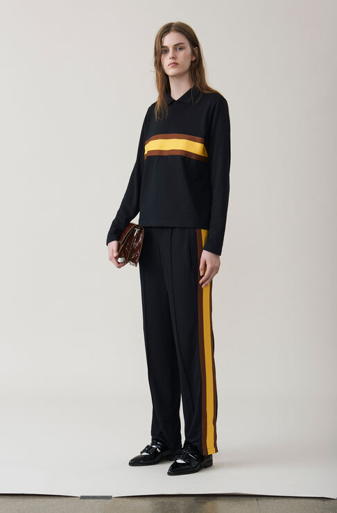 Dubois Polo Pants, Black, hi-res