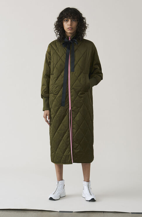Vandalia Coat, Army, hi-res