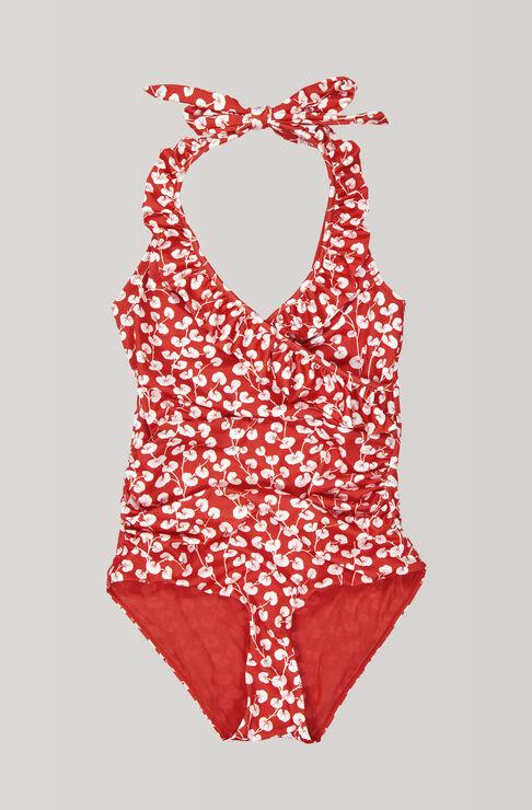 Clover Swimwear Swimsuit, Fiery Red, hi-res