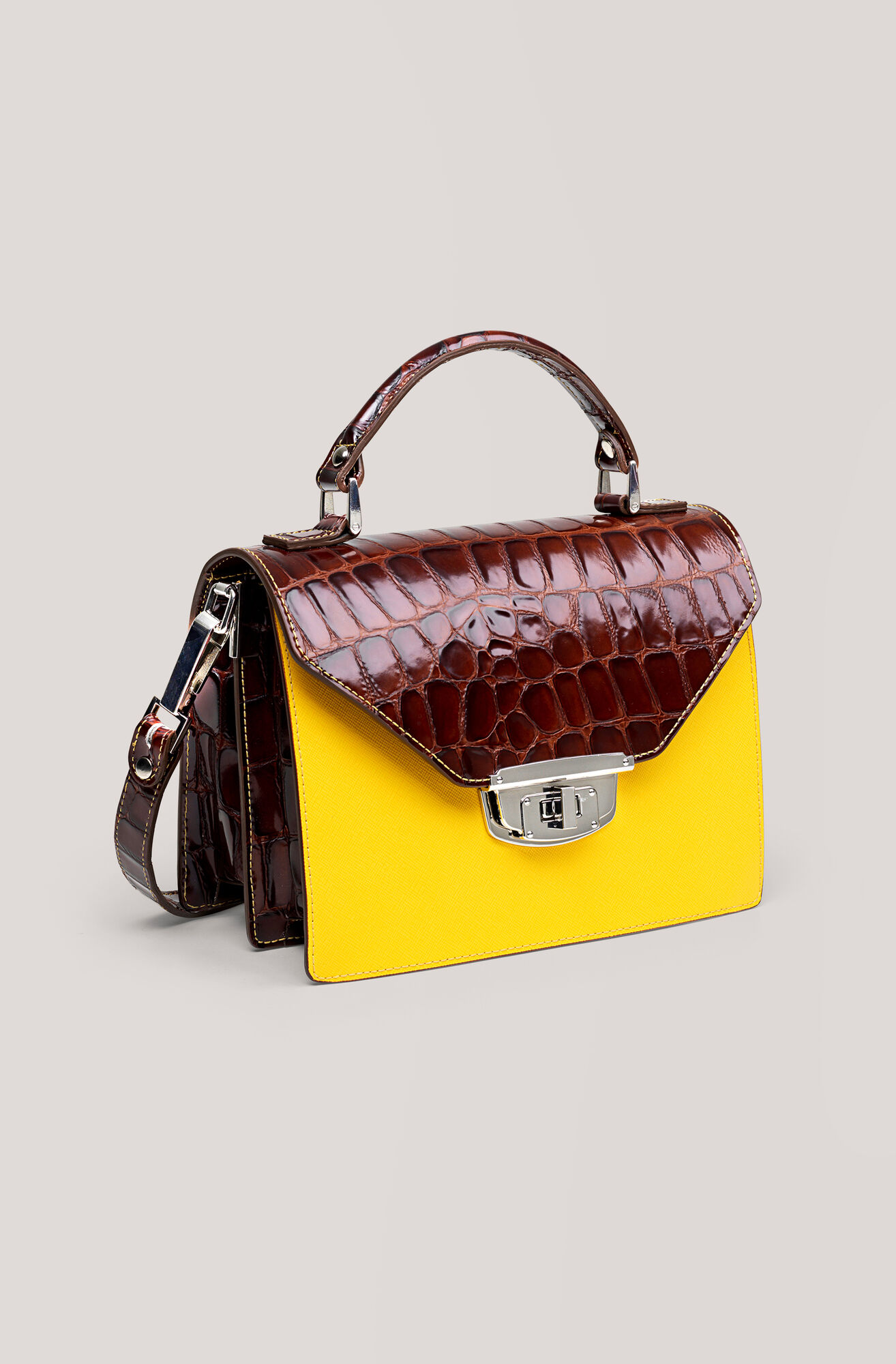 Gallery Accessories Buckle Bag, Tortoise Shell, hi-res