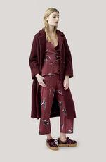 Fenn Long Wrap Coat, Decadent Chocolate, hi-res