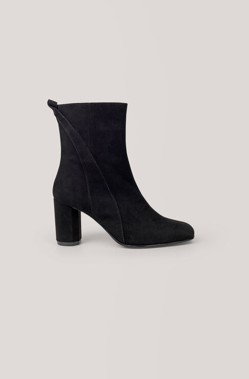 Carly Ankle Boots, Black, hi-res