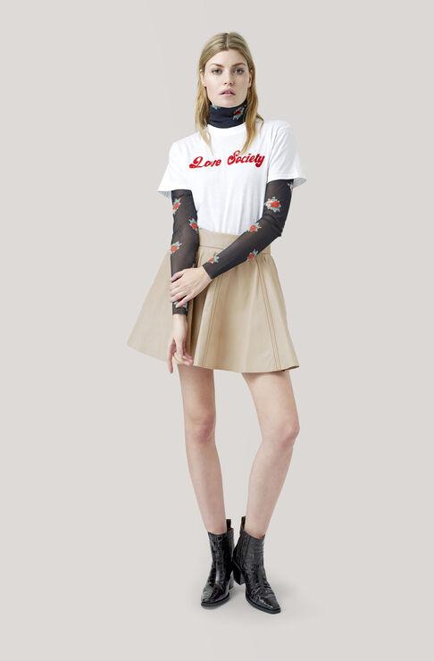 Harway T-shirt, Love Society, Bright White, hi-res