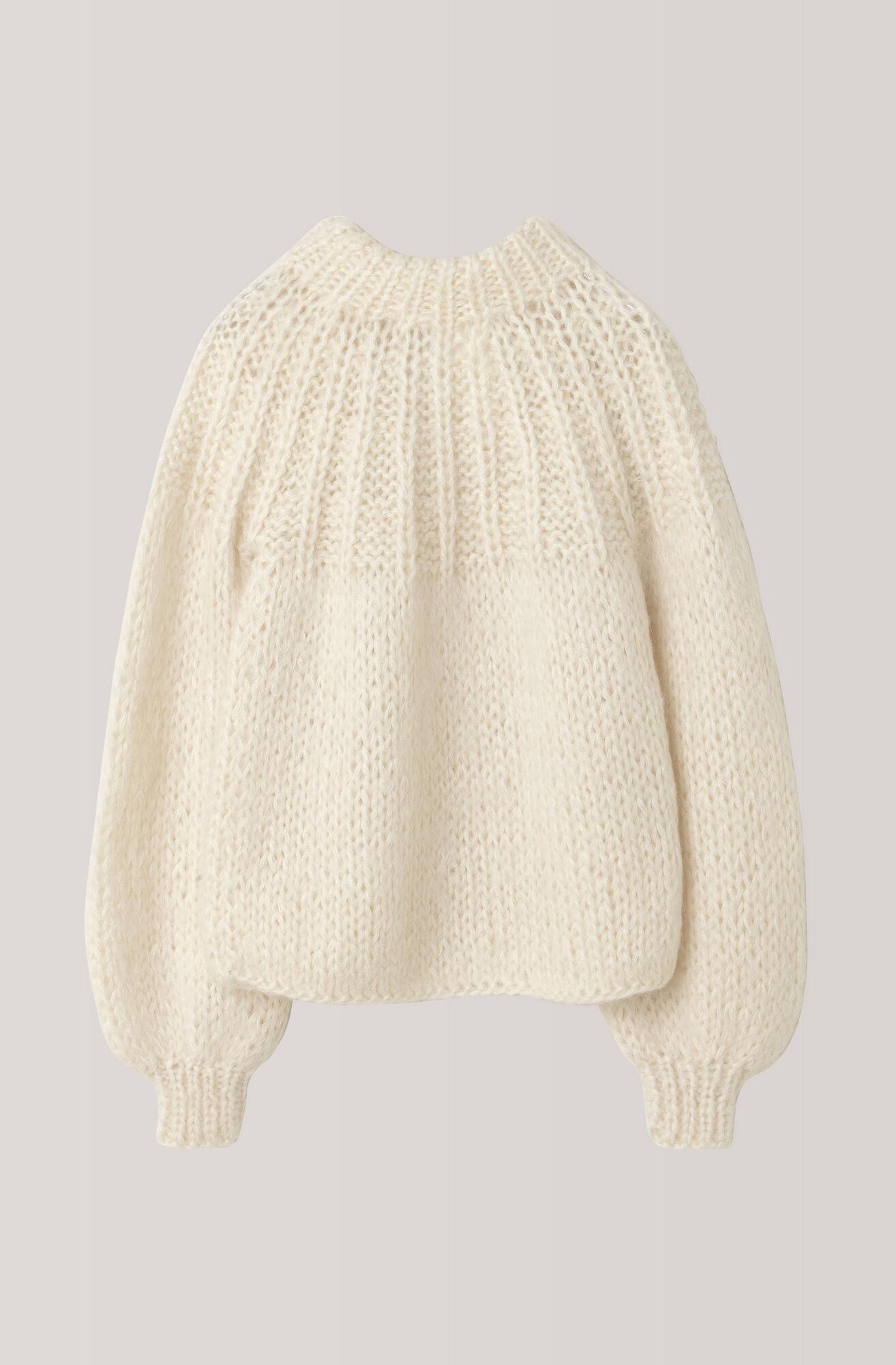 The Julliard Mohair Bow Pullover, Vanilla Ice, hi-res