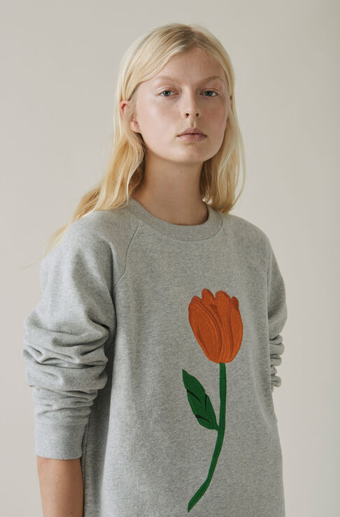 Lott Isoli Sweatshirt, Tulip, Paloma Melange, hi-res