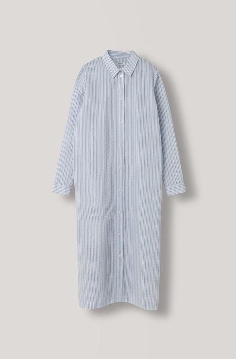 Charron Shirt Dress, Pearl Blue, hi-res