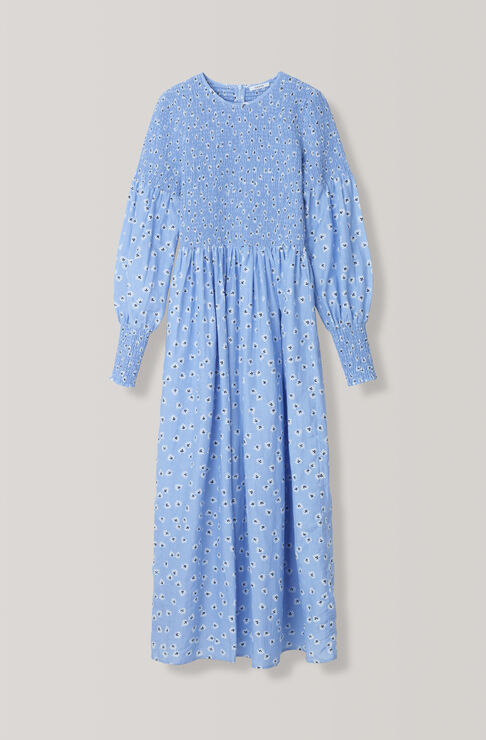 Beacon Maxi Dress, Serenity Blue, hi-res