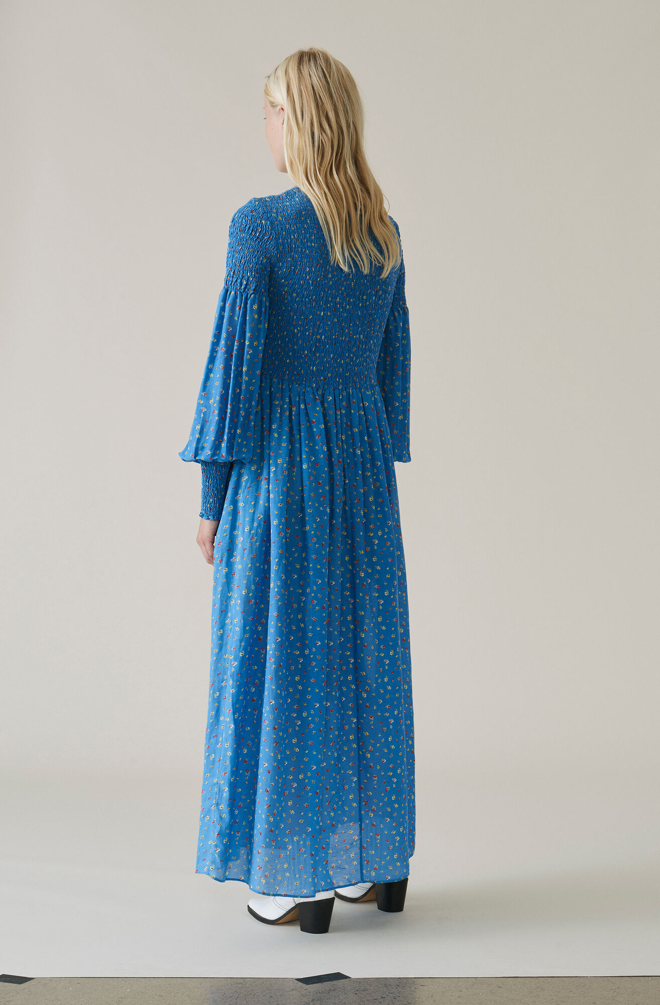 Beacon Maxi Dress, Marina, hi-res