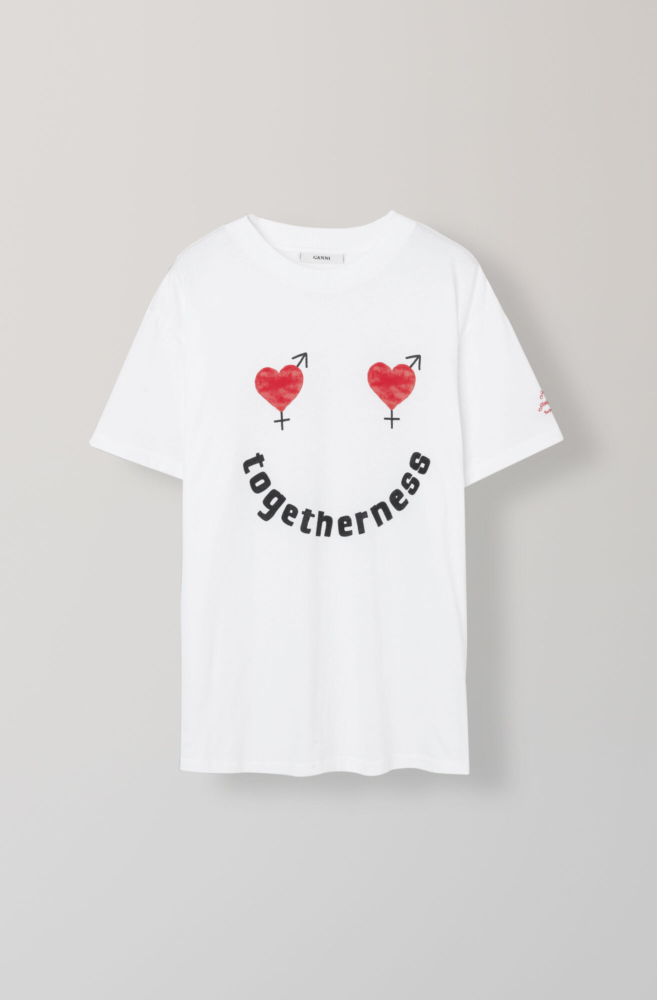 Harway T-shirt, Togetherness, Bright White, hi-res