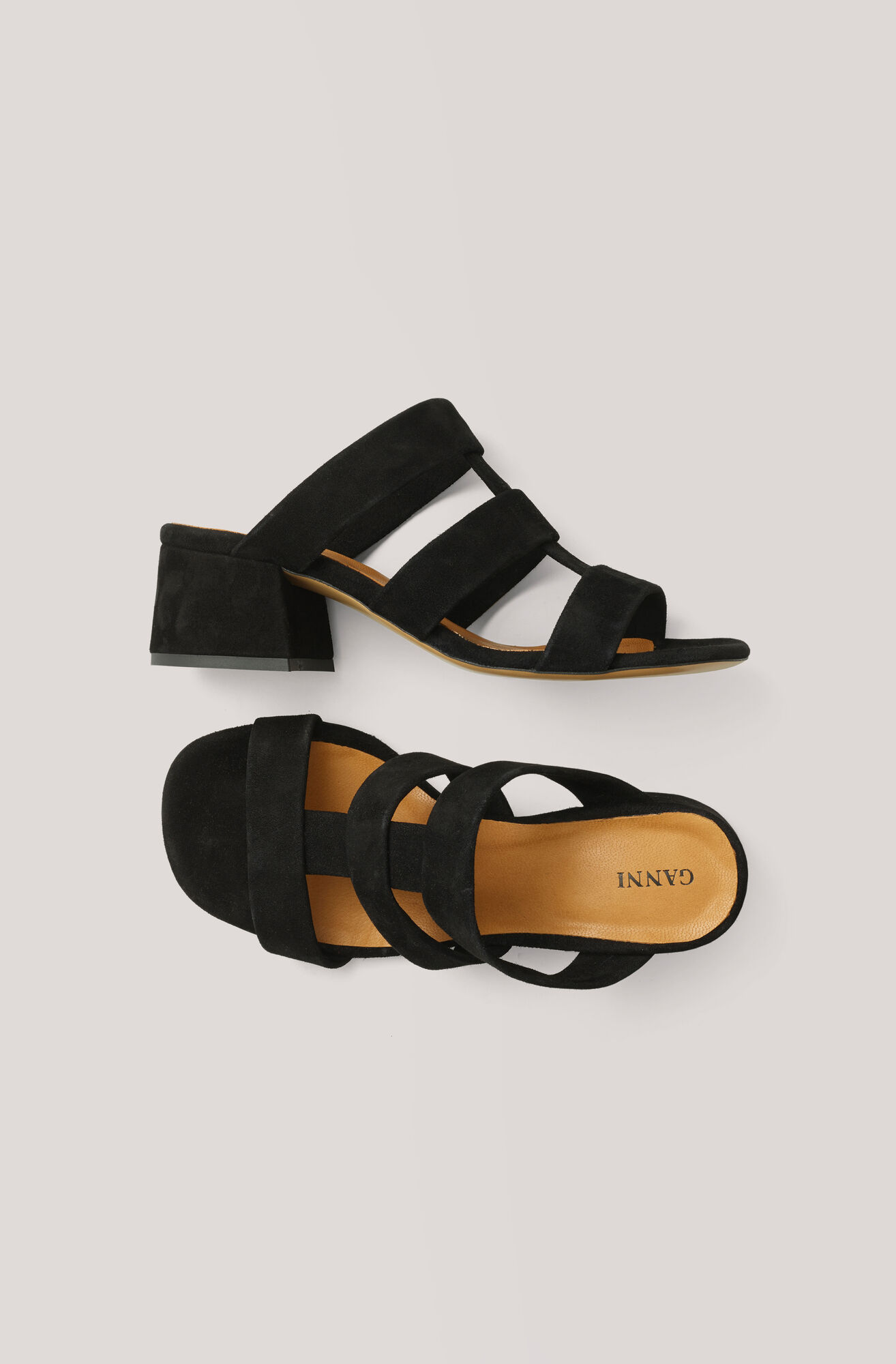 Olive Sandals, Black, hi-res