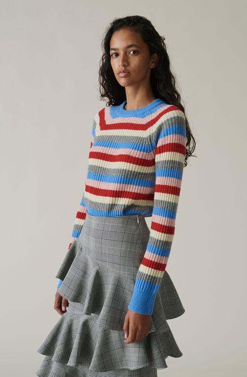 Mercer Multicolour Pullover, Multicolour, hi-res