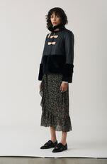 Tilden Mesh Skirt, Black, hi-res
