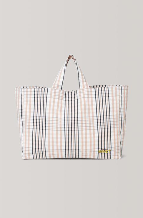 Phillips Cotton Tote Bag, Cuban Sand, hi-res