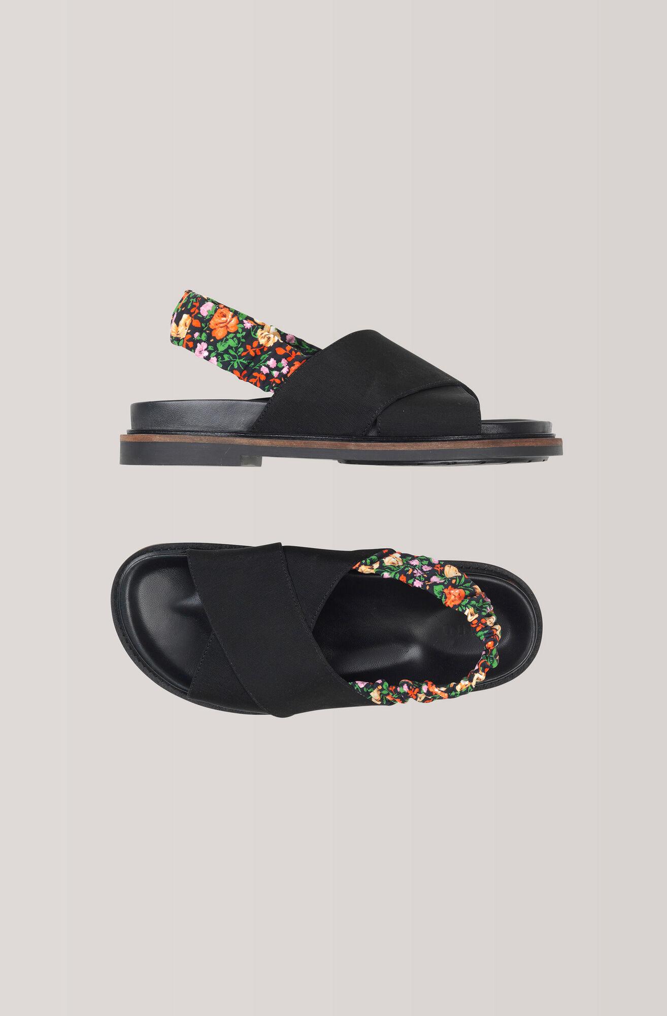 Mona Sandals, Black, hi-res
