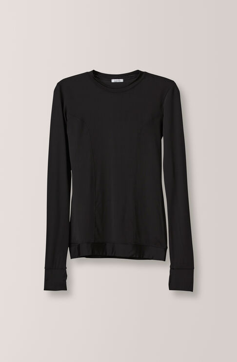 Montmartre Blouse, Black, hi-res