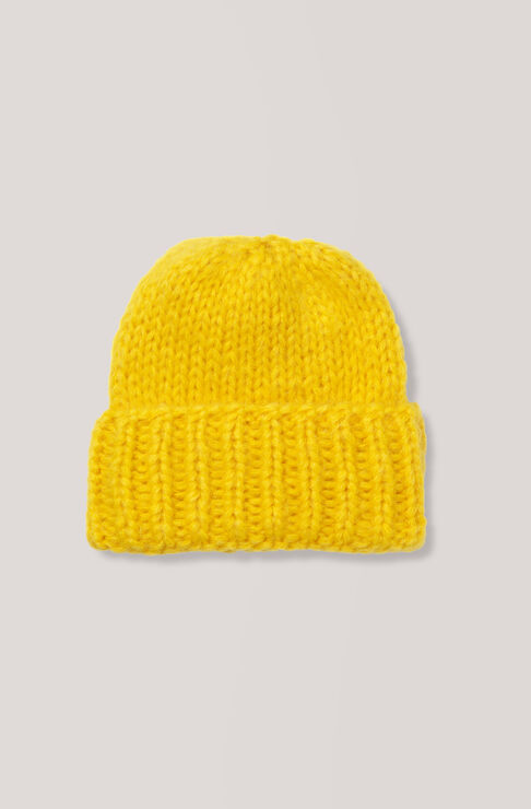 The Julliard Mohair Hat, Lemon, hi-res