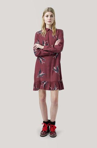 Montrose Crepe Dress, Decadent Chocolate, hi-res