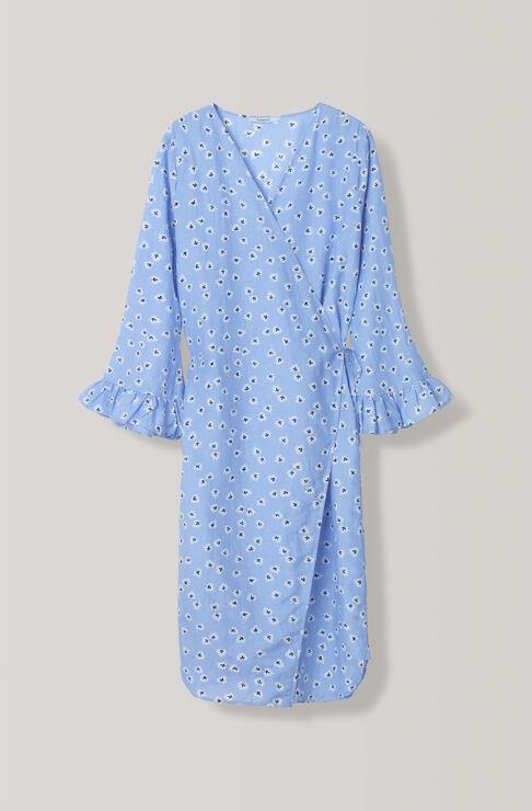 Beacon Wrap Shirt, Serenity Blue, hi-res
