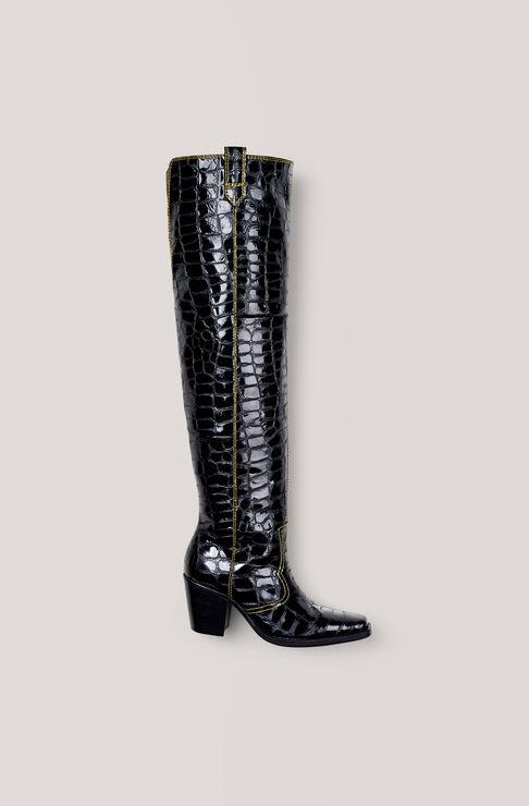 Nadine Boots, Black, hi-res