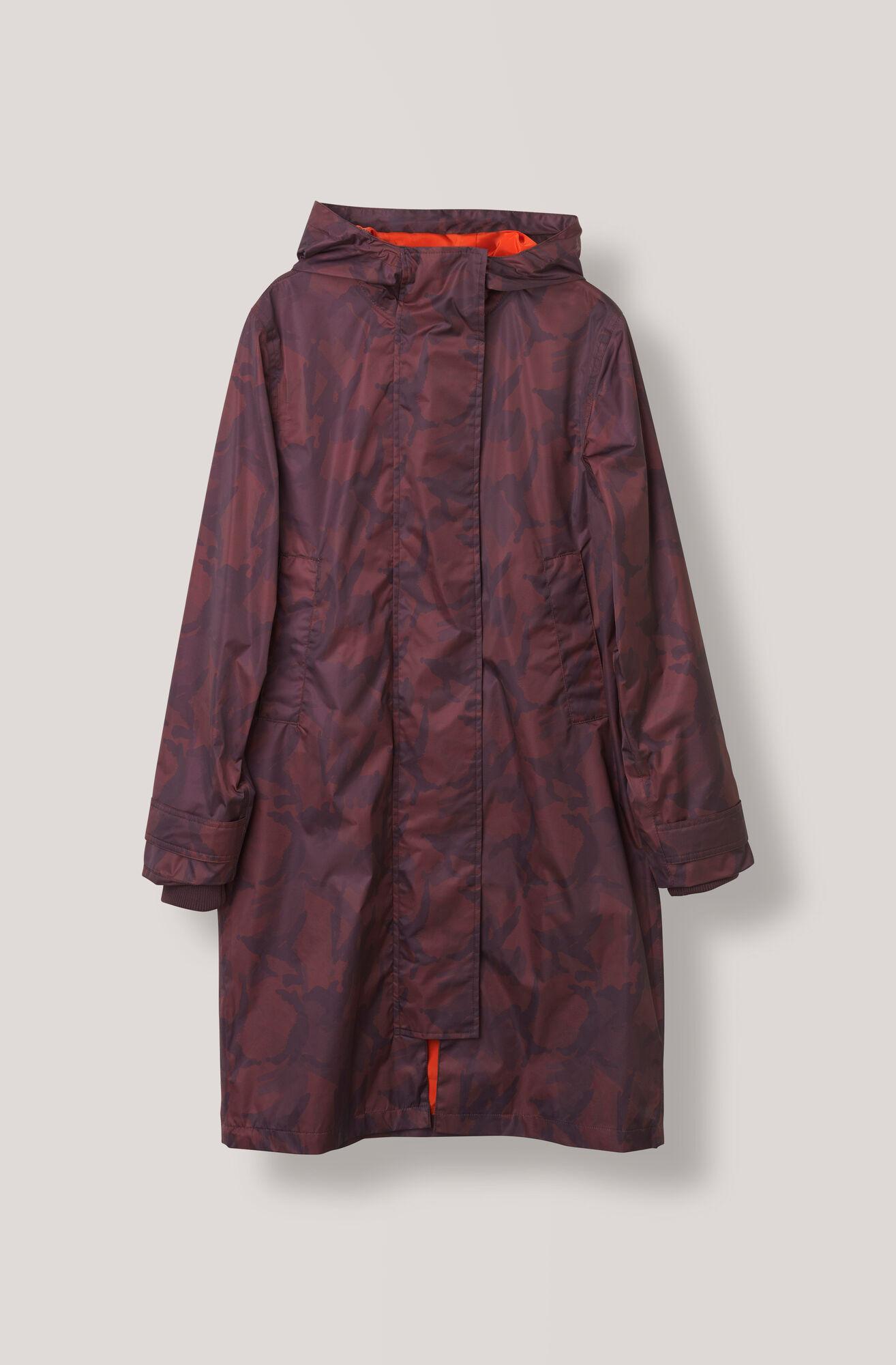 Vandalia Rain Coat, Decadent Chocolate, hi-res
