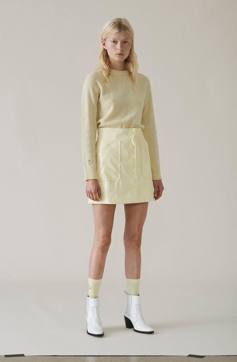 Monterey Mini Skirt, Anise Flower, hi-res