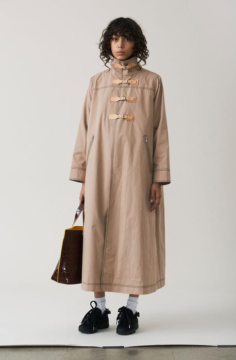 Phillips Cotton Coat, Chanterelle, hi-res