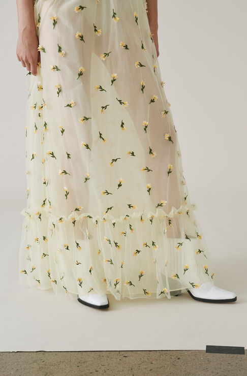 Bliss Maxi Skirt, Anise Flower, hi-res