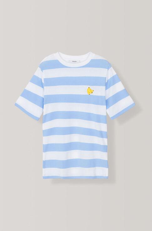 Everman T-shirt, Banana, Serenity Blue, hi-res