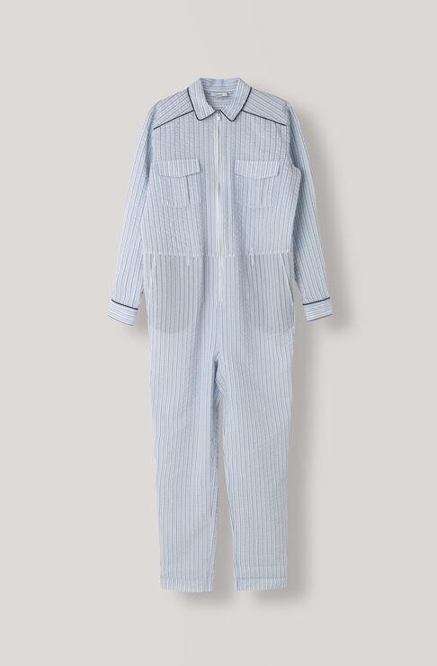 Charron Jumpsuit, Pearl Blue, hi-res