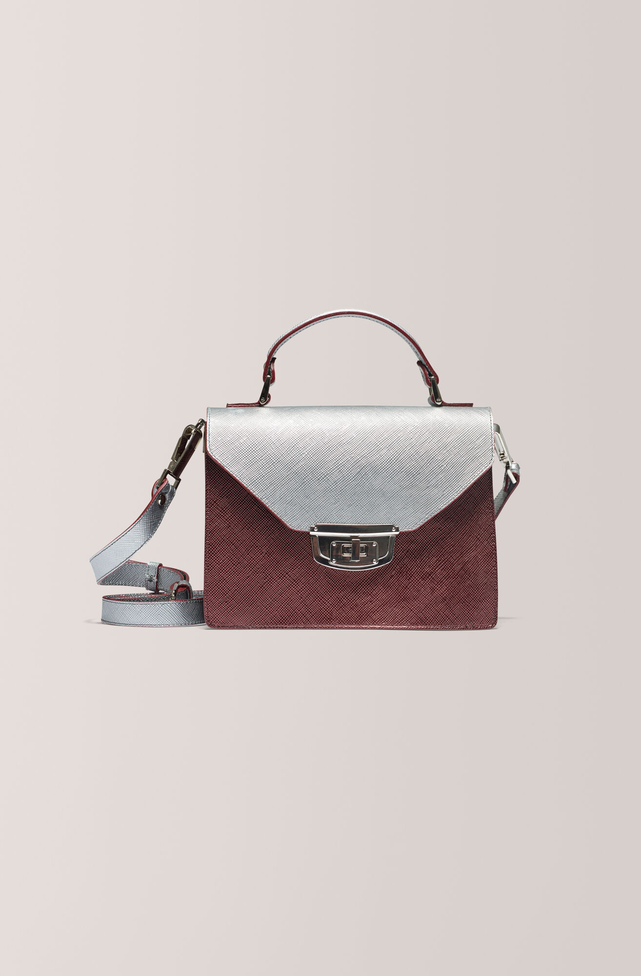 Gallery Accessories Bag, Silver Block Colour, hi-res