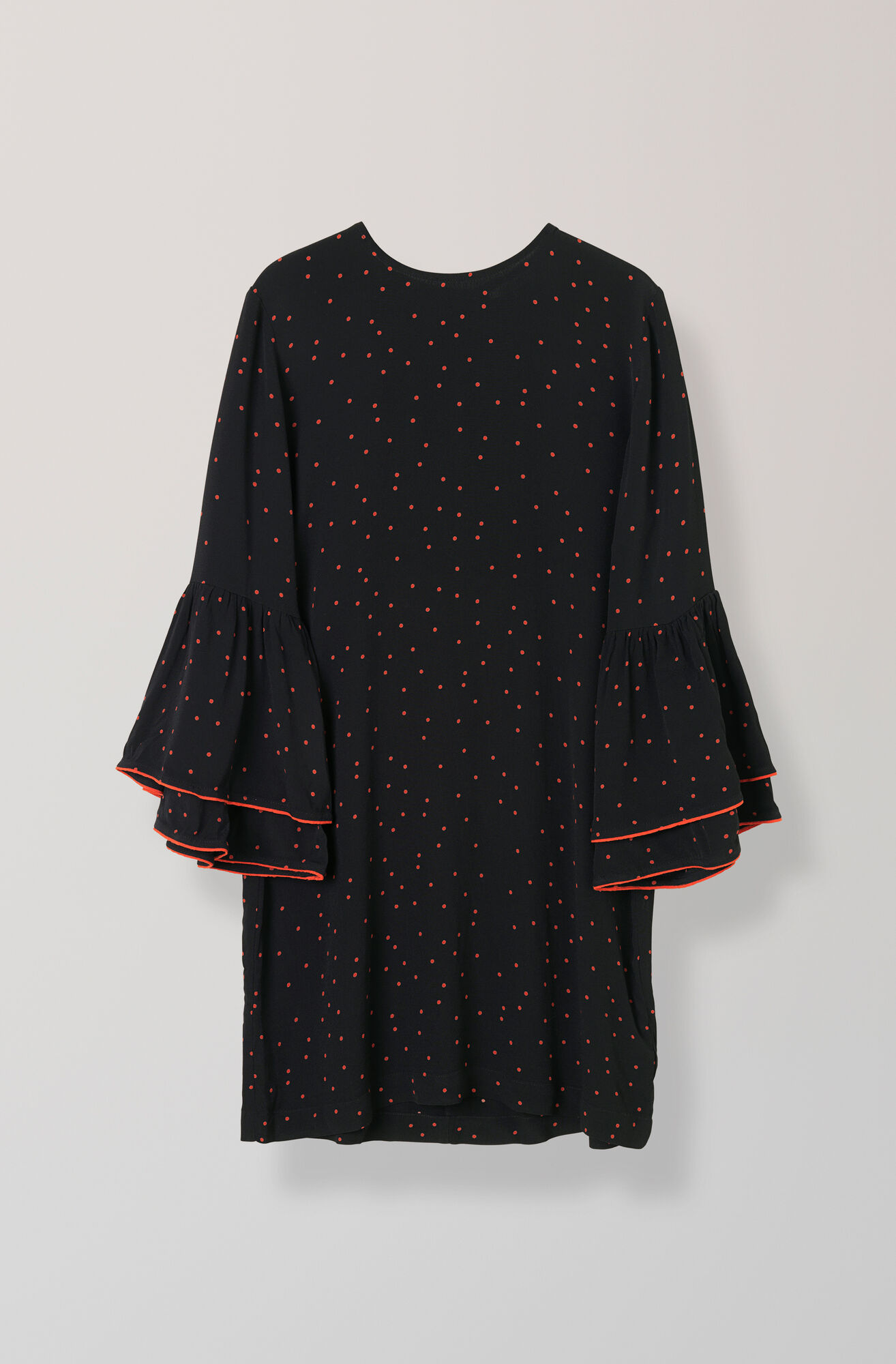 Emory Crepe Dress, Black, hi-res