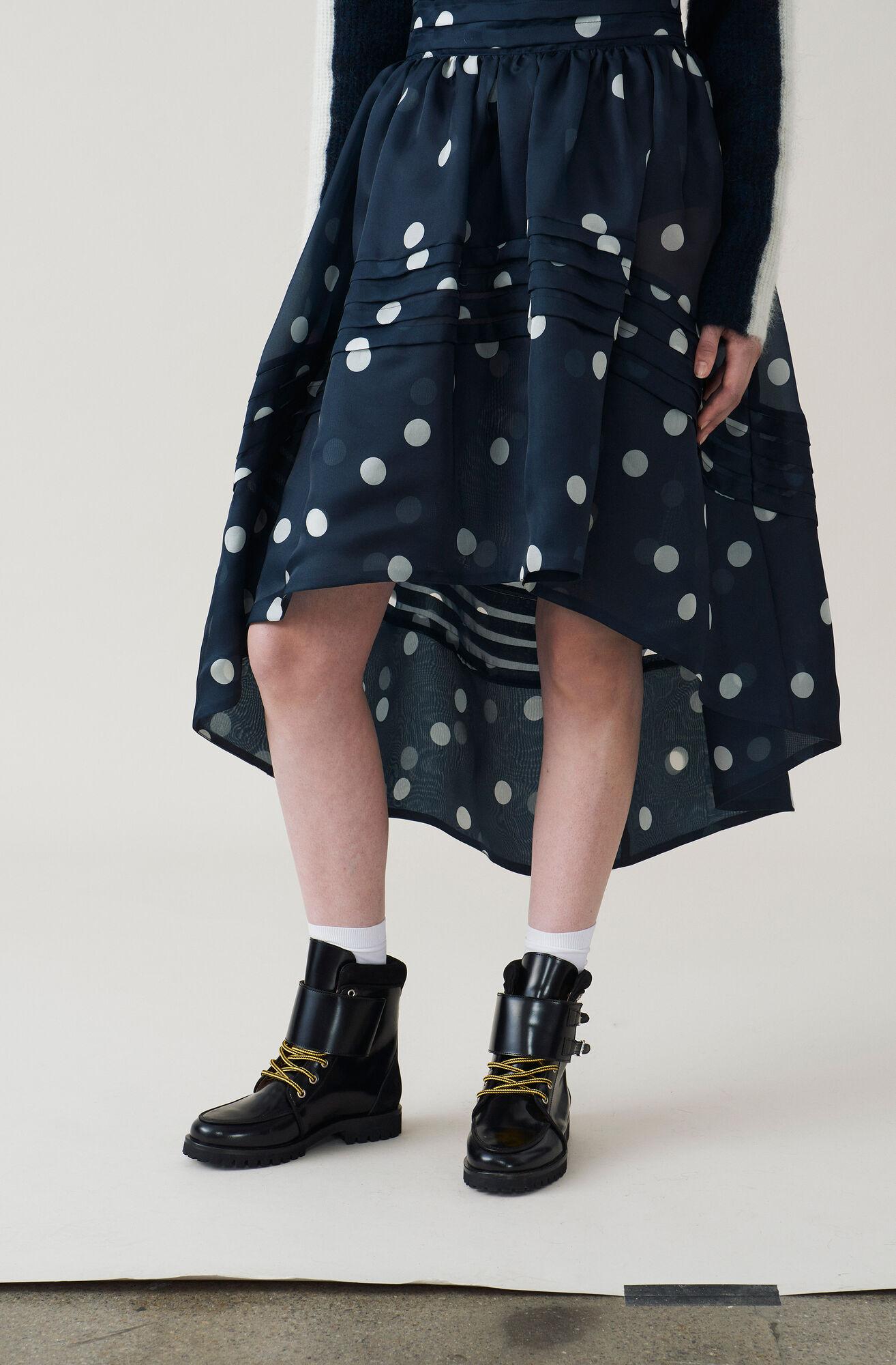 Seneca Silk Skirt, Total Eclipse, hi-res