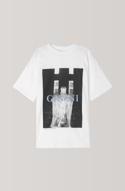 Davis T-Shirt, Angel Oversized, Bright White, hi-res