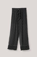 Monette Georgette Pants, Black, hi-res