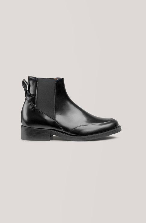 Violet Ankle Boots, Black, hi-res