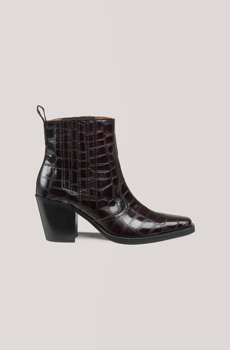 Callie Ankle Boots, Decadent Chocolate, hi-res